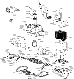 aquabot turbo t4 plus parts [ 1147 x 1377 Pixel ]