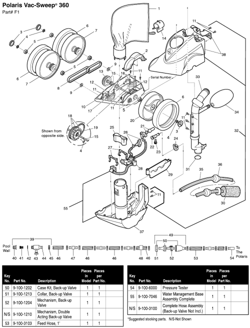 small resolution of polaris 360 parts
