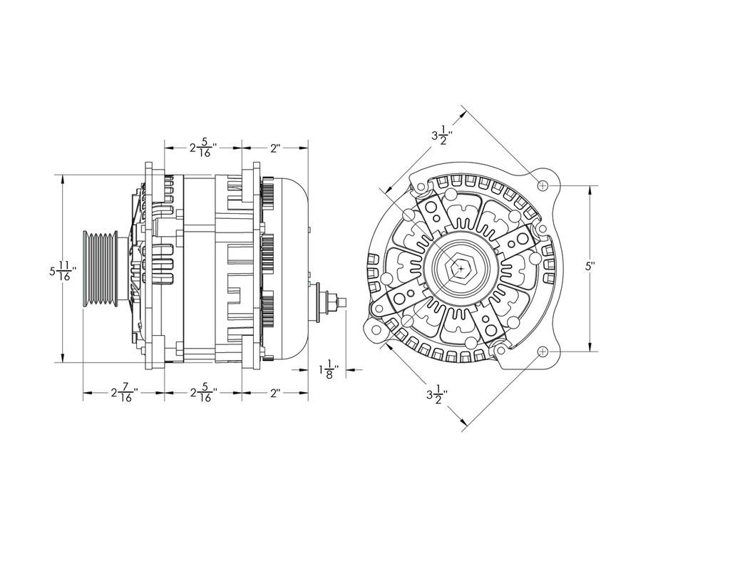 370 amp high output alternator volkswagen jetta beetle golf gti [ 1024 x 791 Pixel ]