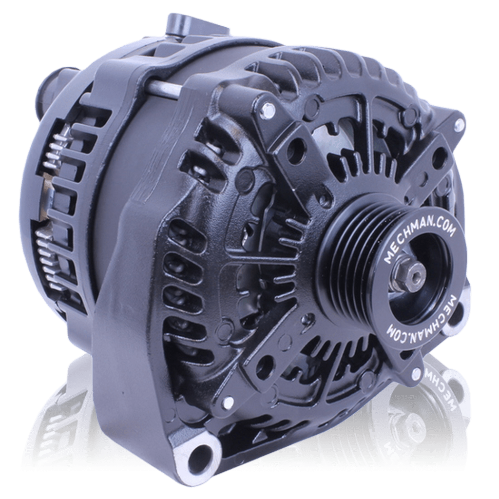 small resolution of 320 amp high output black alternator for chevy gmc tahoe suburban silverado escalade