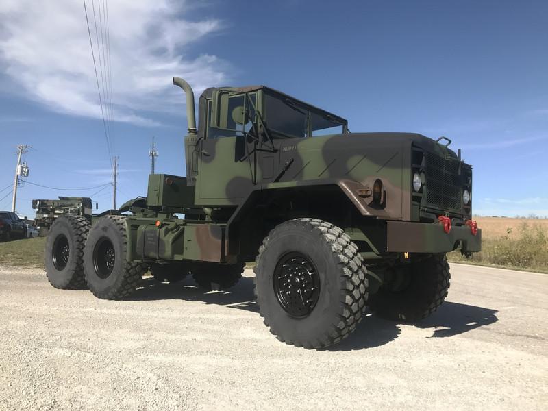 BMY 5 Ton M931A2 MILITARY SEMI Truck 6X6 - Midwest Military Equipment