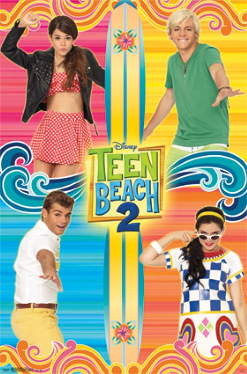 Teen Beach Movie 2 : beach, movie, Beach, Movie, Poster, Print, VARTIARP13604, Posterazzi