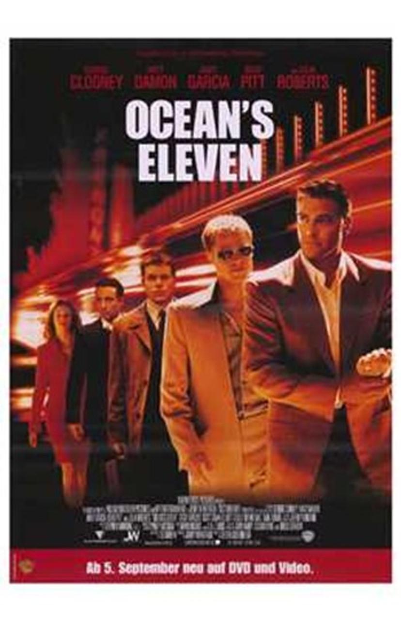 ocean s eleven movie poster 11 x 17 item mov207064