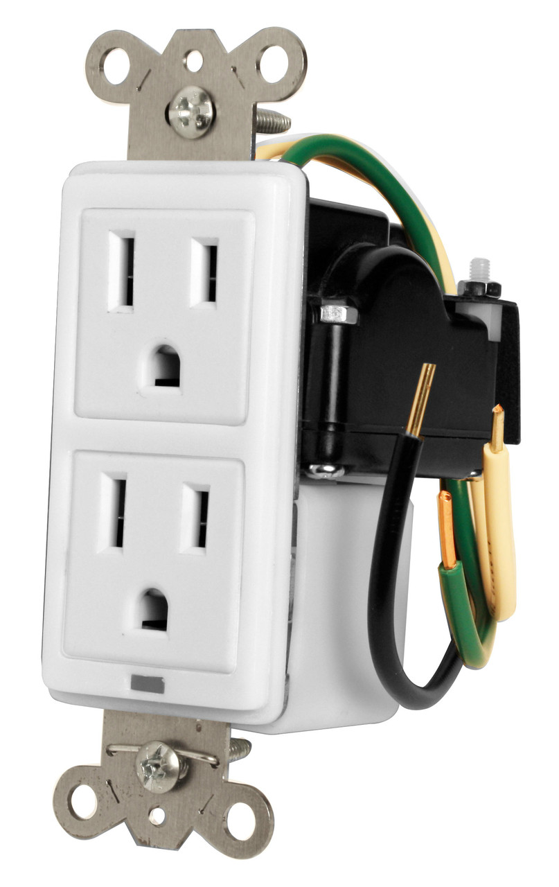 hight resolution of furman 15a in wall duplex 2 outlets w surge protection miw surge 1g affinitech inc