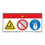 Cutting Hazard Safety Labels Clarion Safety Systems
