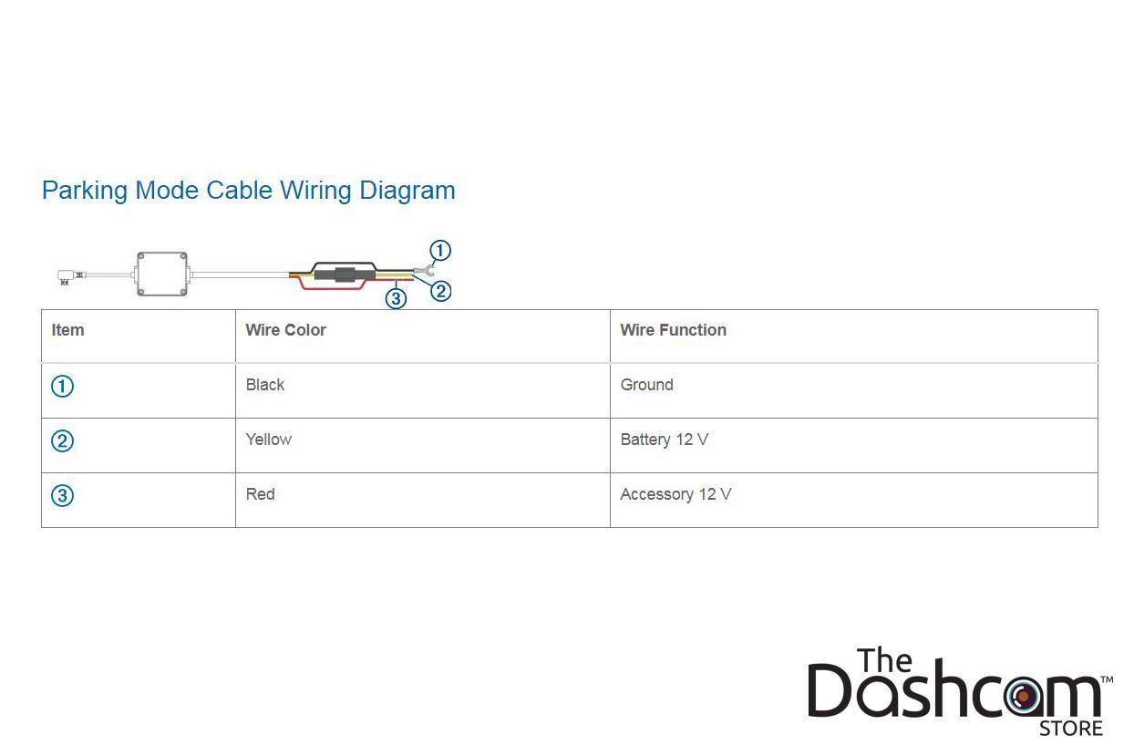 medium resolution of garmin dashcam parking mode kit microusb direct wire power cablegarmin dash cam parking mode kit wiring
