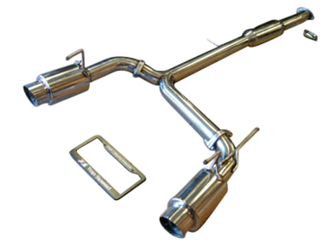 infiniti g35 coupe 03 07 mid resonator catback performance exhaust system