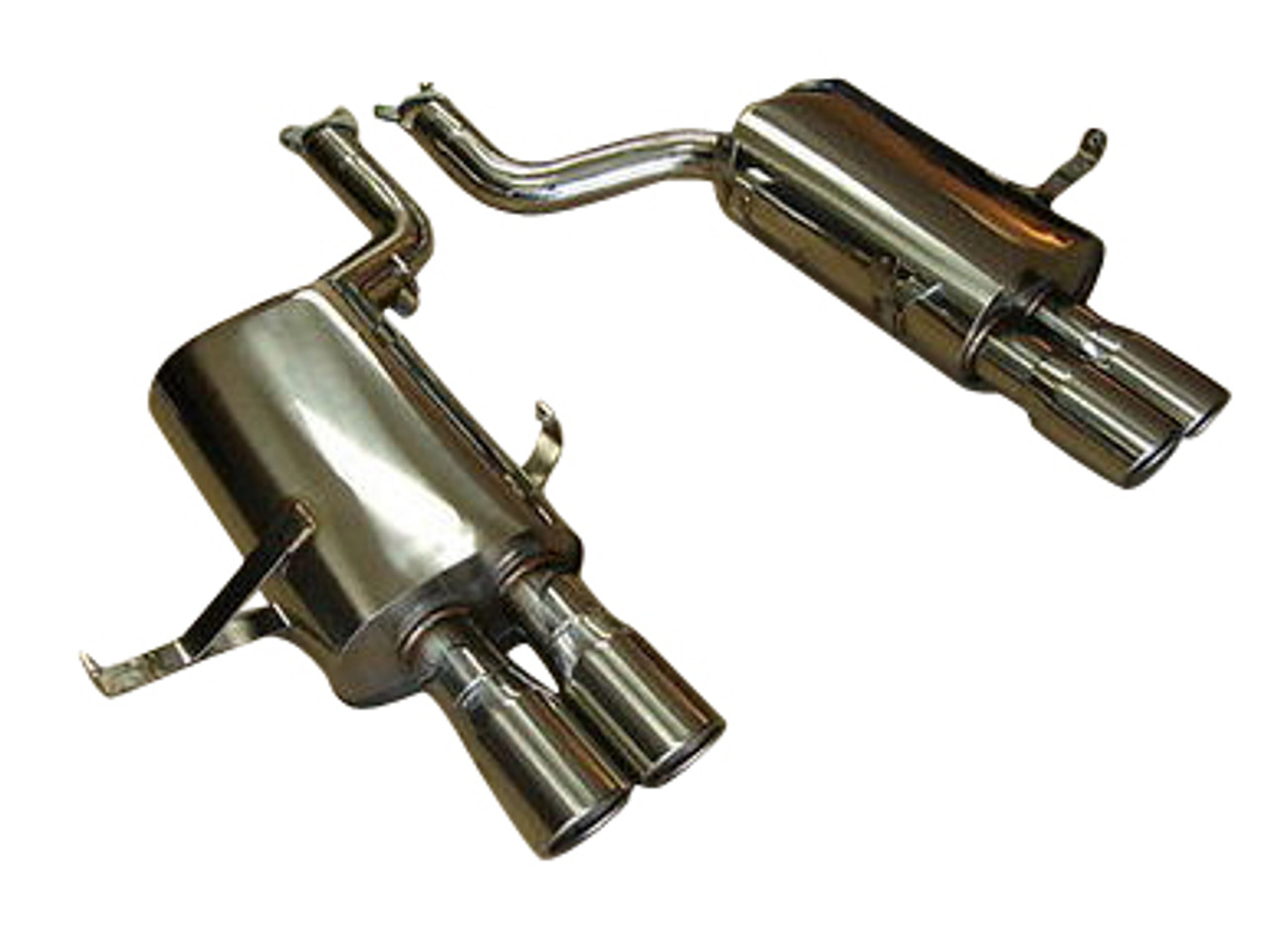 bmw e39 m5 v8 5 0l 00 03 top speed pro 1 rear section exhaust system