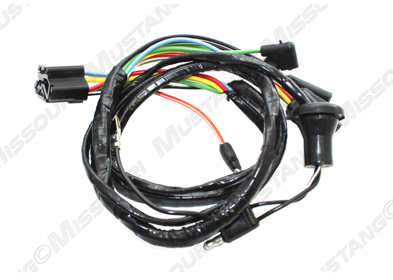 medium resolution of 1966 ford mustang windshield wiper motor underdash harness 2 speed ford wiper motor wiring harness connectors