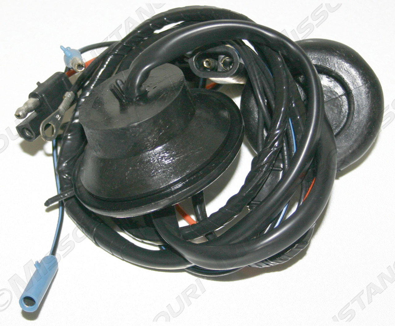 small resolution of 1969 1970 ford mustang door light wiring with speakers