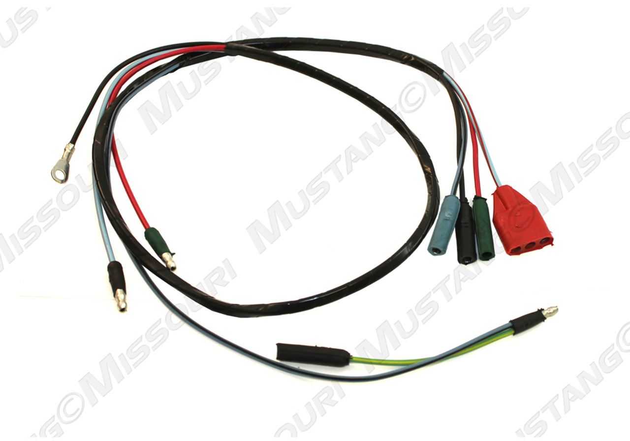 hight resolution of 1964 66 ford mustang rally pac under dash wiring harness ford dash wiring harness connectors