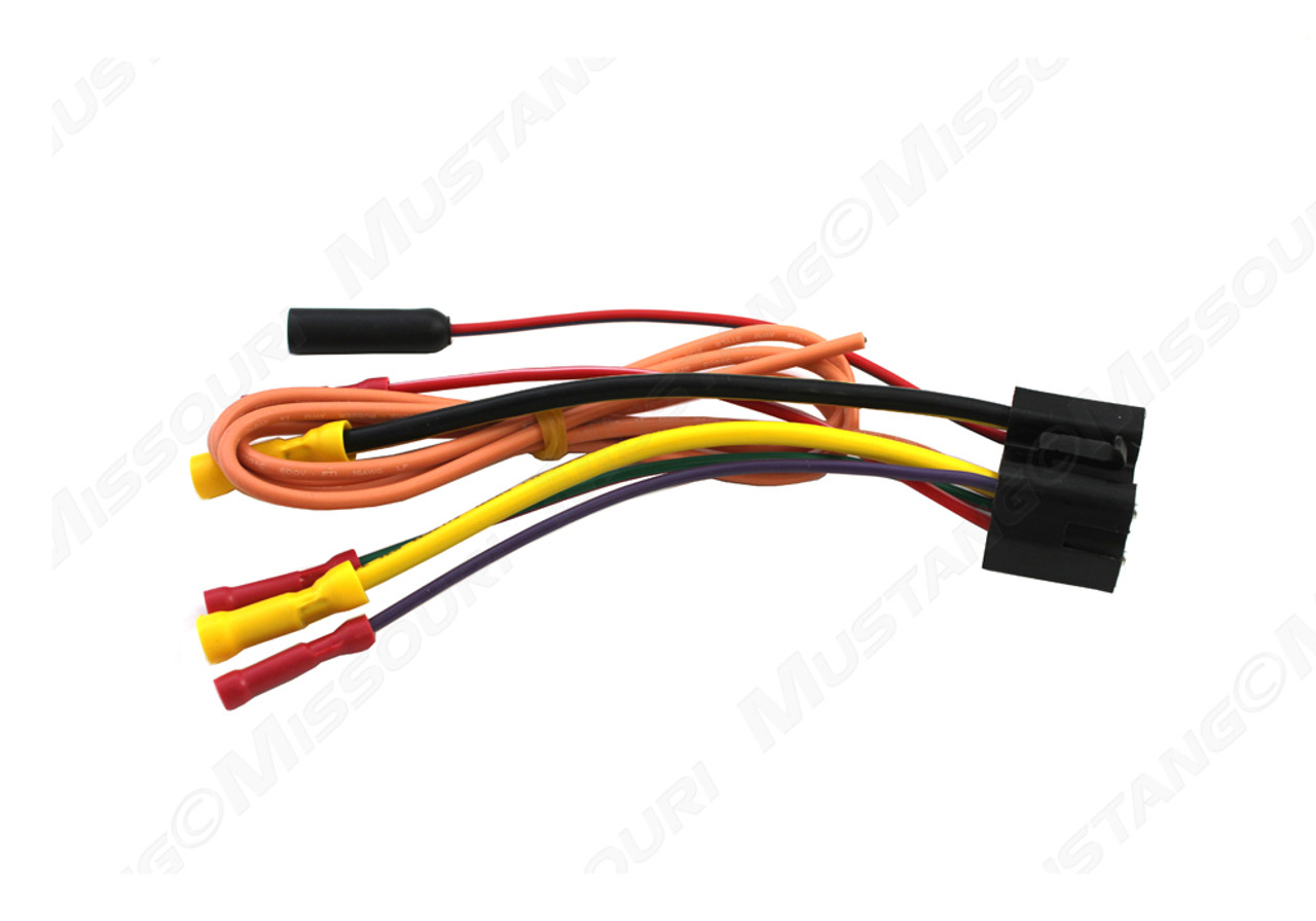 hight resolution of 1968 1969 ford mustang ignition switch repair pigtail1969 ford ignition switch wiring pigtail 18