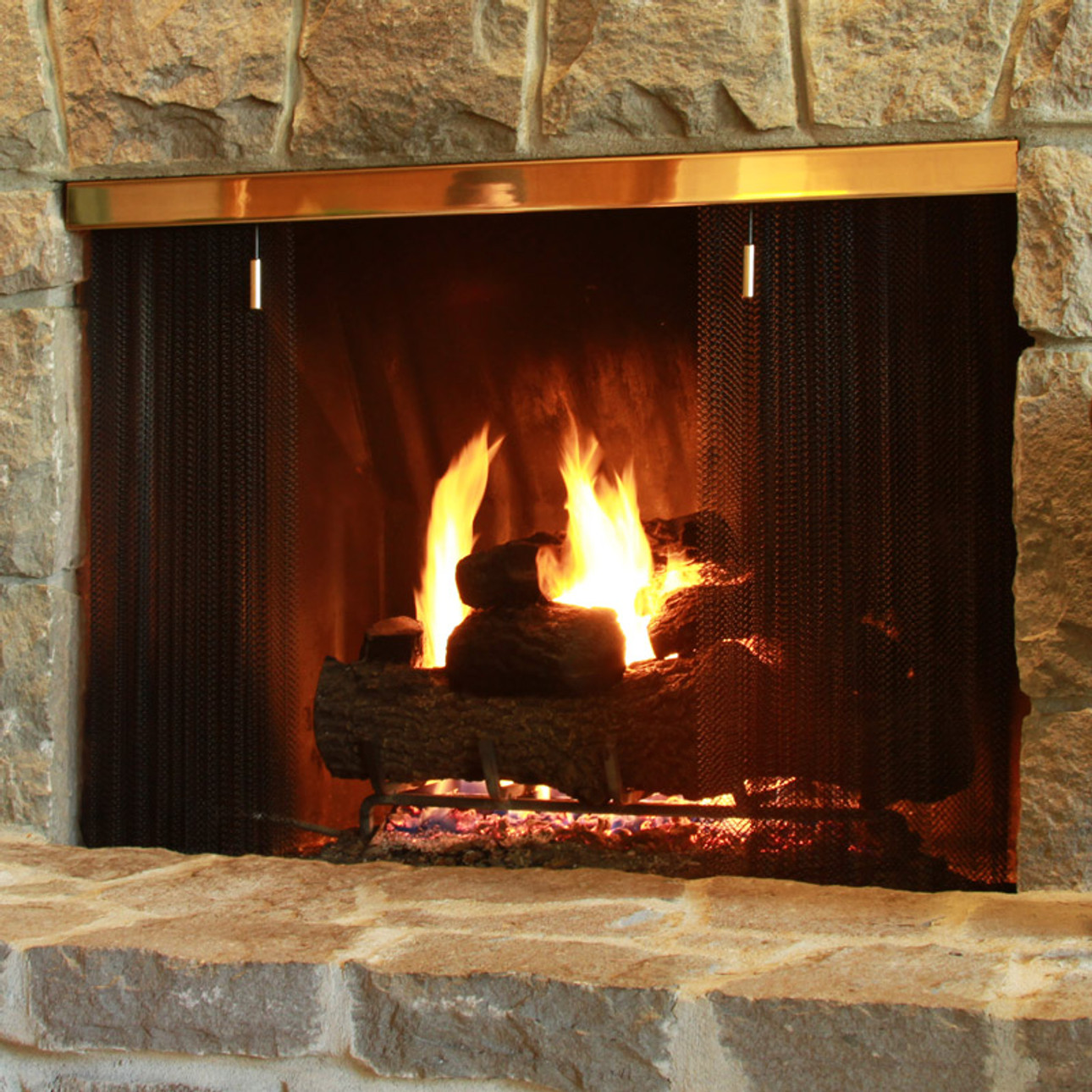 barstock fireplace screen systems