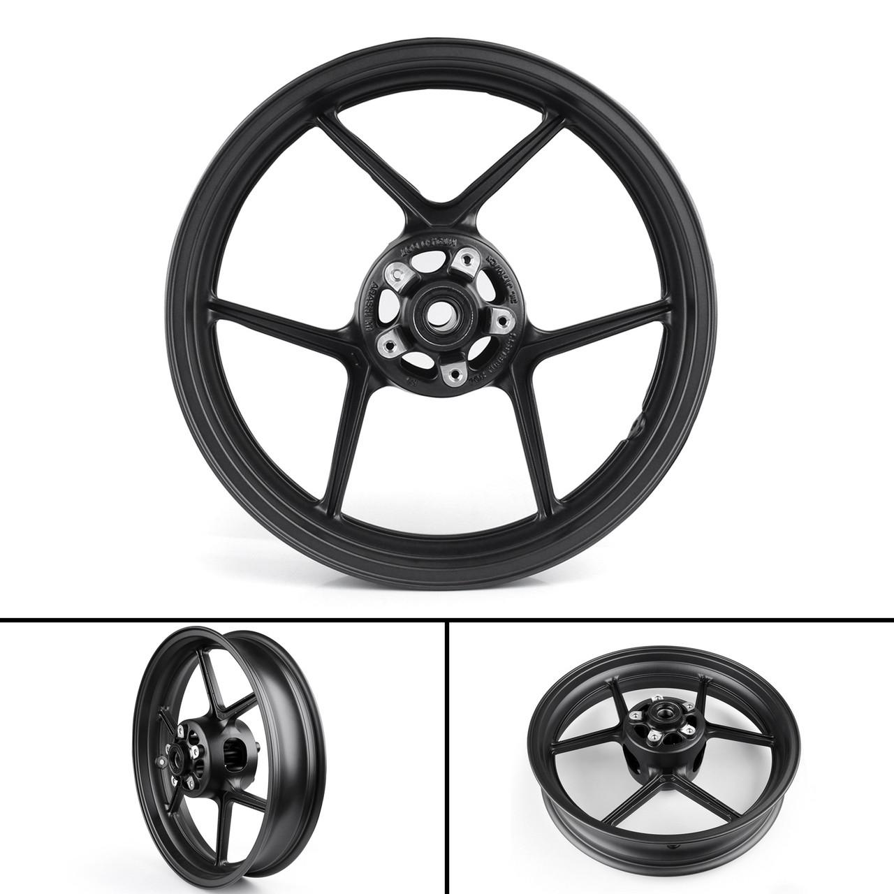 hight resolution of front wheel rim for kawasaki ninja zx6r 2005 2012 zx10r 2006 2010 z750 2007