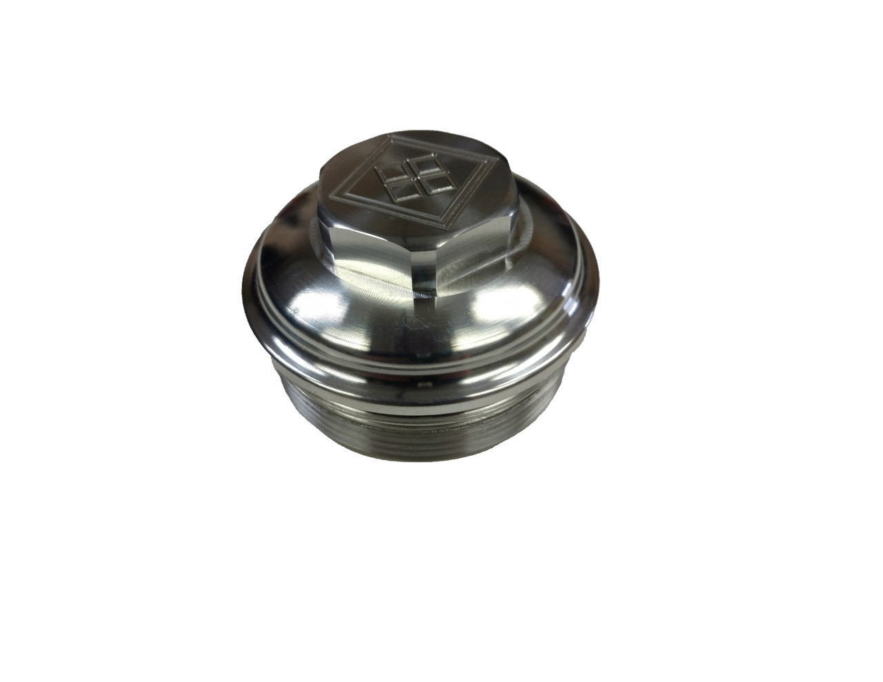 black diamond 2003 2007 6 0 powerstroke billet upper fuel filter cap [ 1280 x 989 Pixel ]