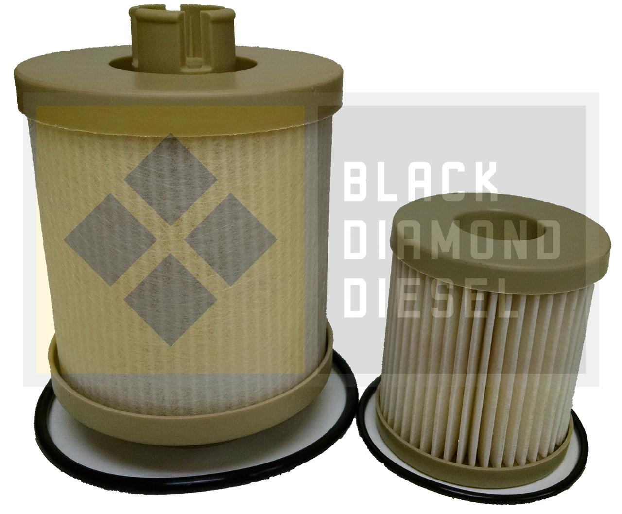 hight resolution of prime guard fuel filter fits 2003 2007 ford superduty 6 0 powerstroke diesel bdspdf55590