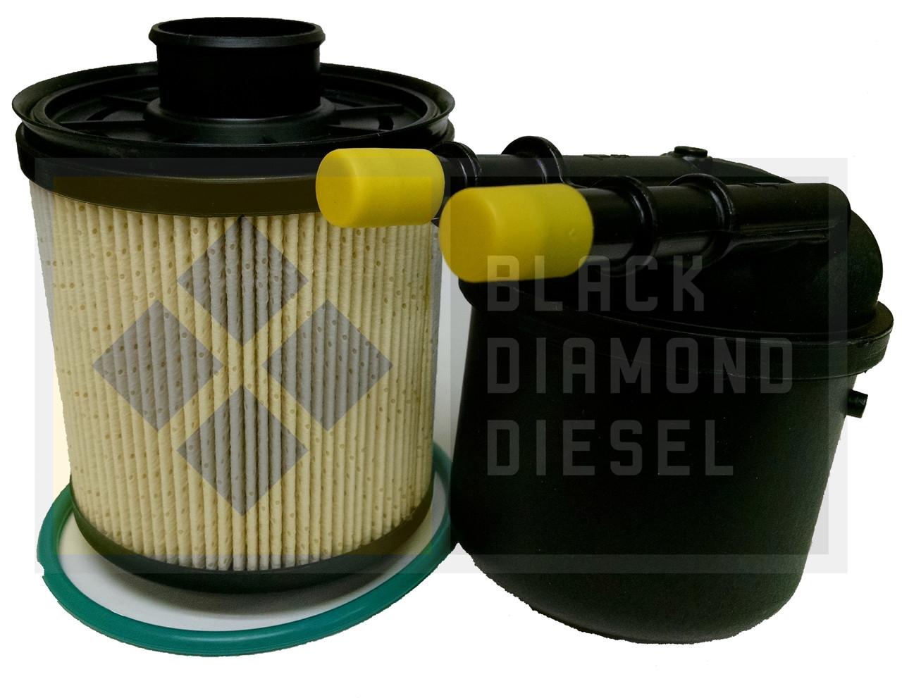 prime guard fuel filter fits 2011 2017 ford superduty 6 7 powerstroke diesel [ 1280 x 991 Pixel ]