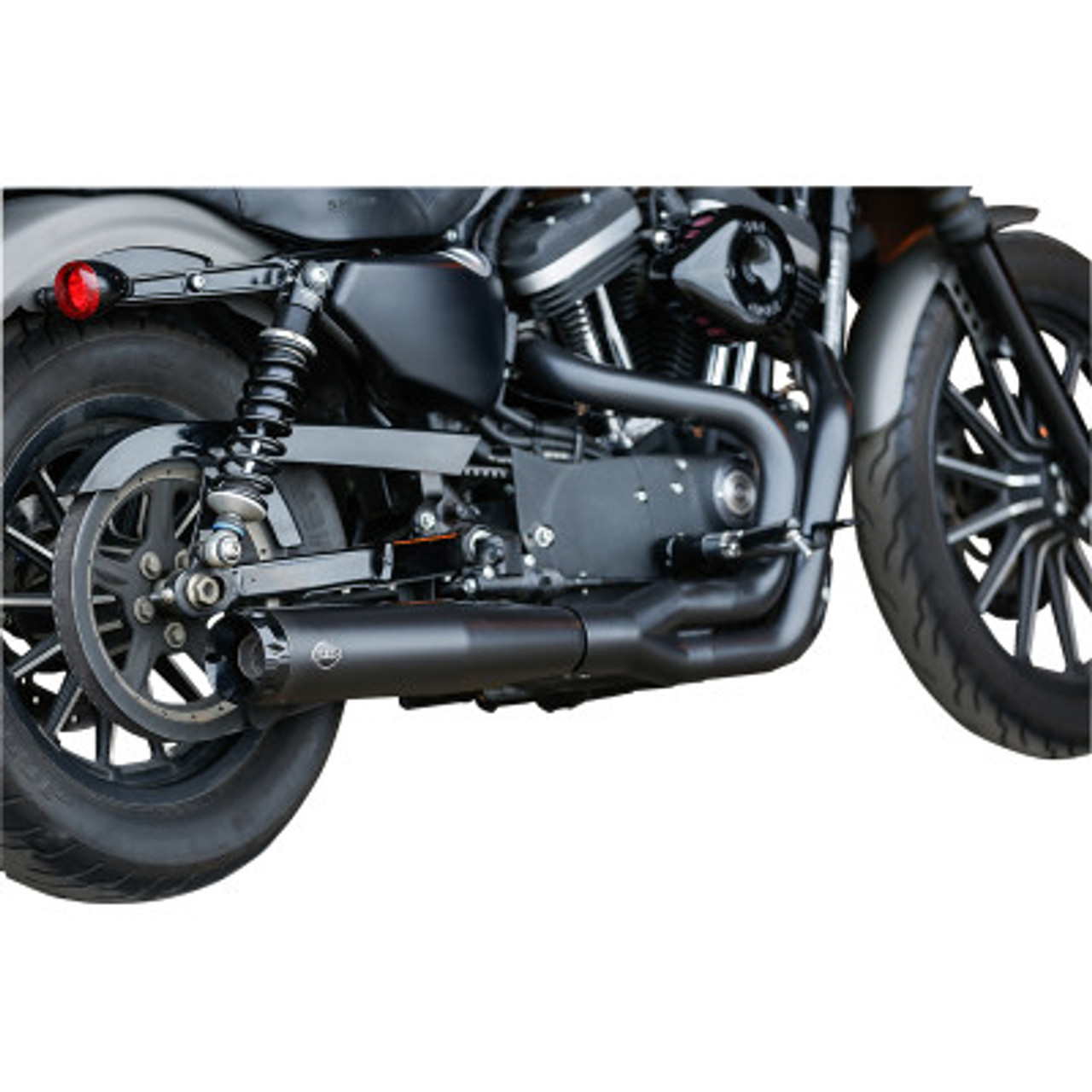 s s cycle superstreet 2 into 1 exhaust system fits 14 20 sportster models