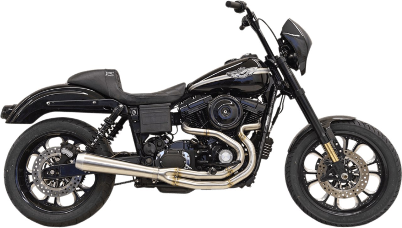 bassani road rage iii stepped 2 into 1 exhaust system stainless steel fits harley fxd dyna