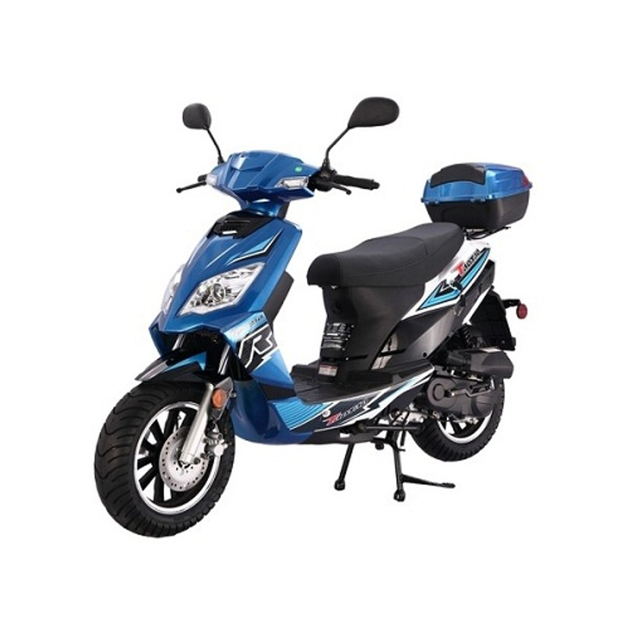 hight resolution of new scooter 50cc assembled