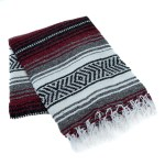 Classic Mexican Blanket By La Montana 74 X 53