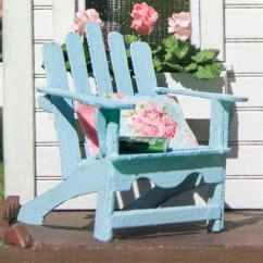 Adirondack Chair Kit Arm Of 1 48 True2scale Dollhouse Miniatures Quarter Scale Wood