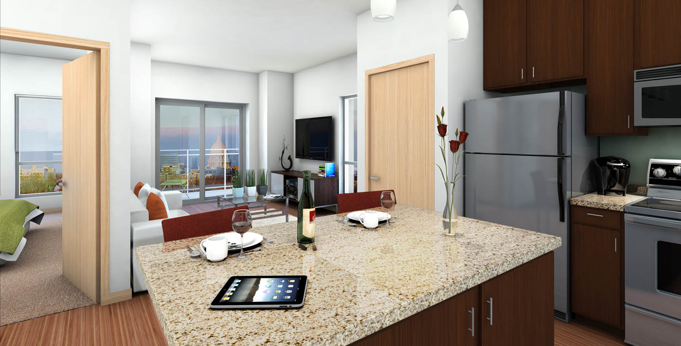 more about the studio 1 and 2 bedroom apartments in madison at