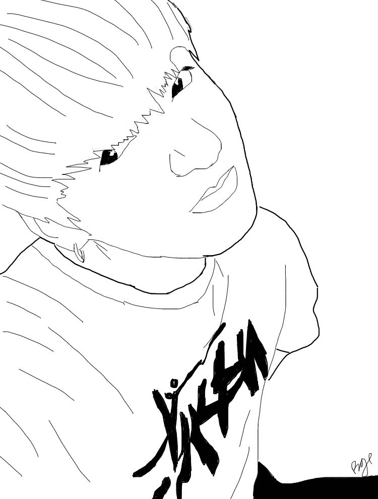 Jungkook Bts Kpop Tumblr Outline