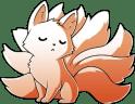 Fox ninetailedfox cute kawaiifox Sticker by Rei