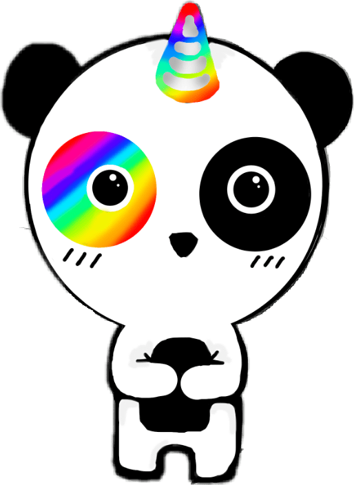 Cute Collage Wallpaper Popular And Trending Pandacorn Stickers On Picsart