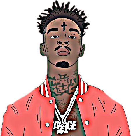 Popular and Trending 21savage Stickers on PicsArt