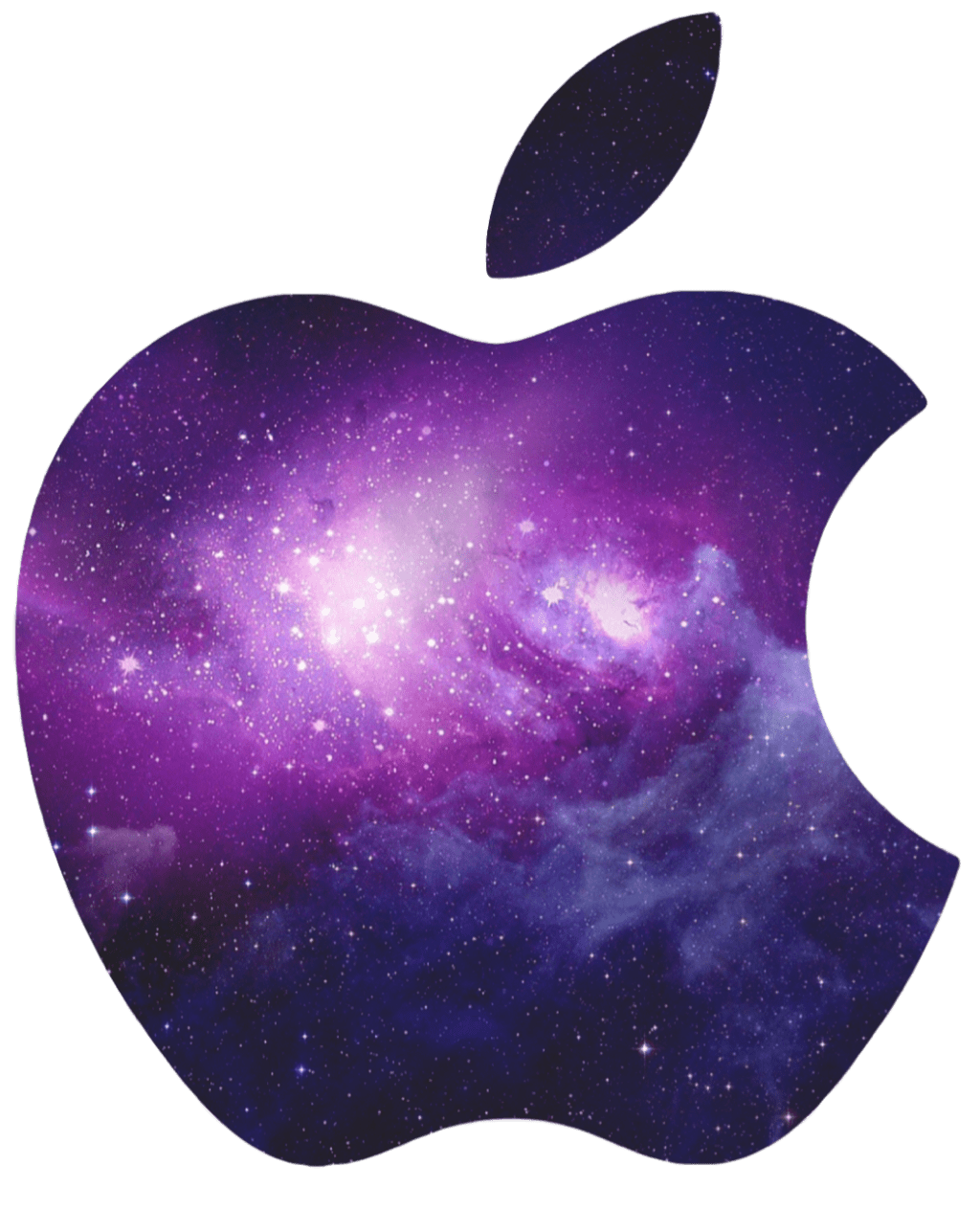 apple iphone galaxy fruit tropical exotic purple space