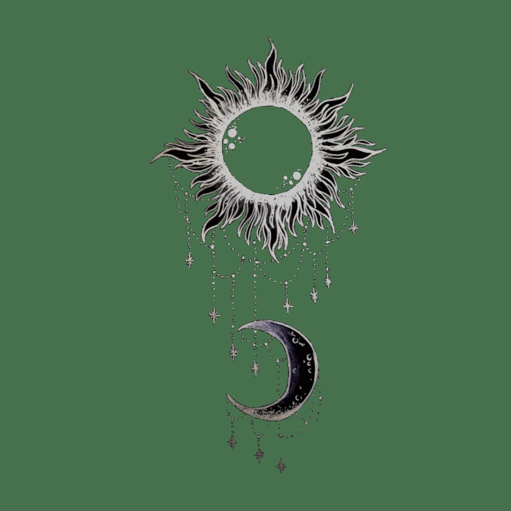 Tumblr Moon Sun Blackandwhite Black Amp White