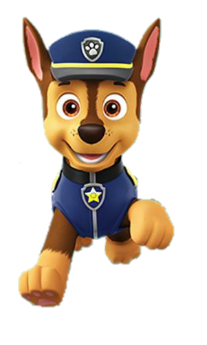 All Anime Characters Wallpaper Chase Sticker By Bruna Paw Patrol