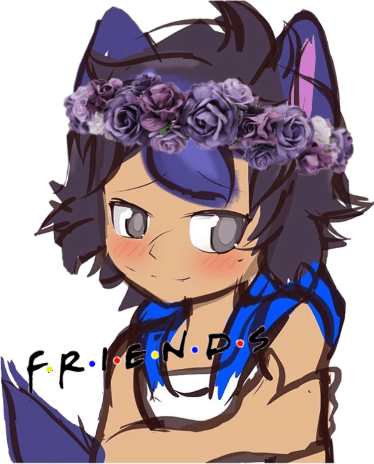 aphmau icon Ein ES  Sticker by savagewolfemma