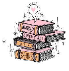 Pink Book Aesthetic Png