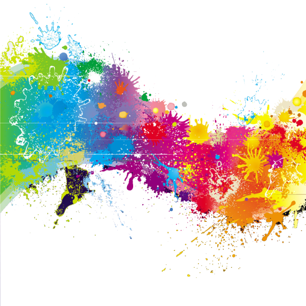 Splatter Paint Paintsplatter Rainbow Colorful Colors