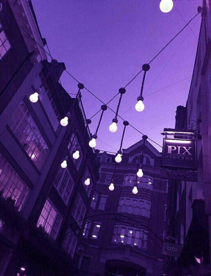 purple aesthetic tumblr image