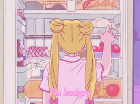 Cute Cat Studying Wallpaper Anime Animegirl Sailor Sailormoon Aesthetic Pink Pastel