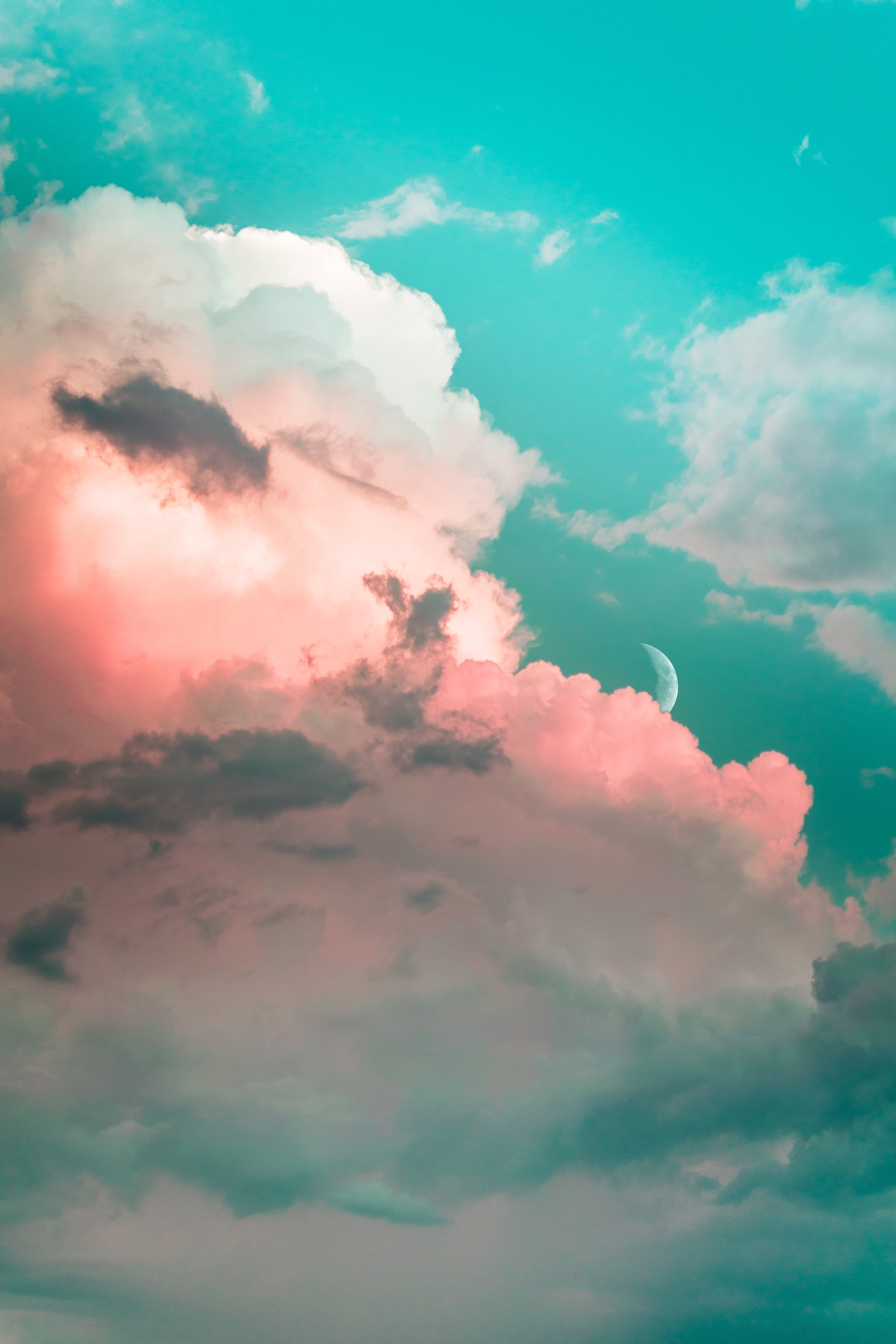 cloud clouds sky aesthetic background freetoedit...