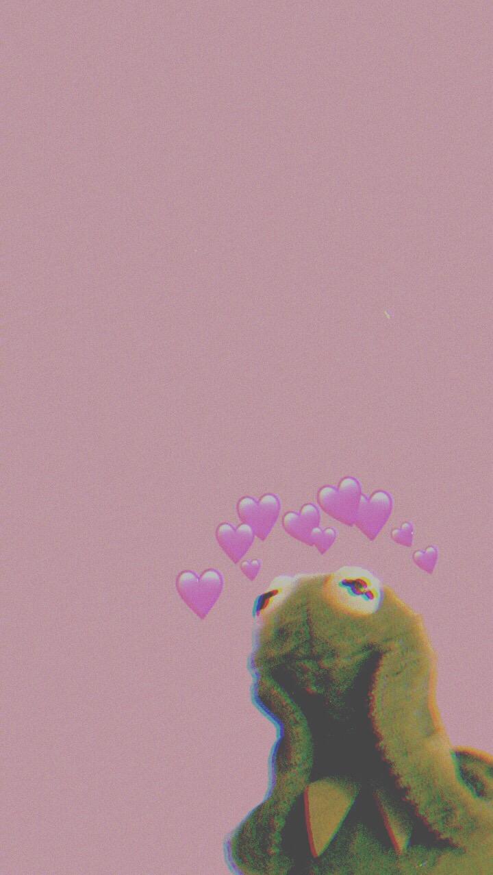 Kermit The Frog Hearts Wallpaper : kermit, hearts, wallpaper, Heart, Wallpaper, Iphone, Kermit