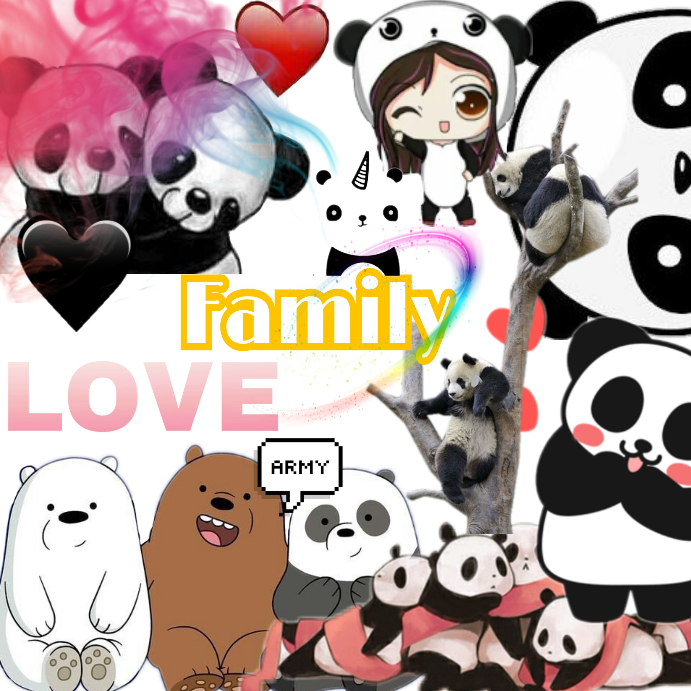 Cute Food Wallpaper Free 1000 Awesome Pandacorn Images On Picsart