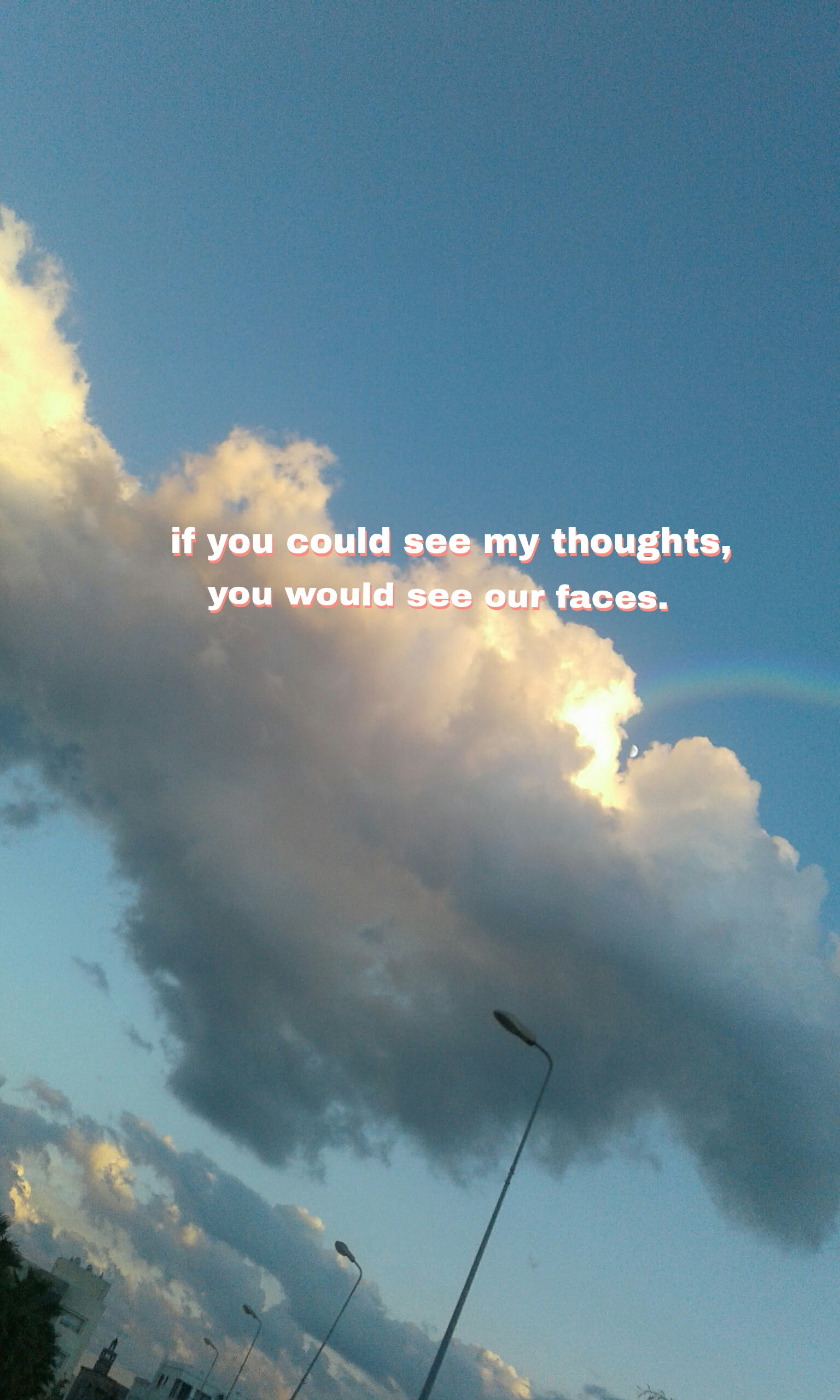 Quote Wallpaper Generator Sky Quote Blue Aesthetic Aesthetictumblr Aestheticedit