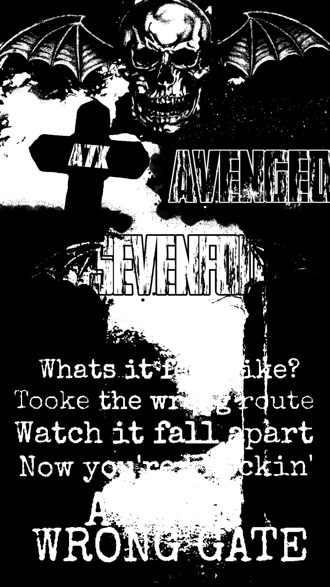 a7x avenged sevenfold rock