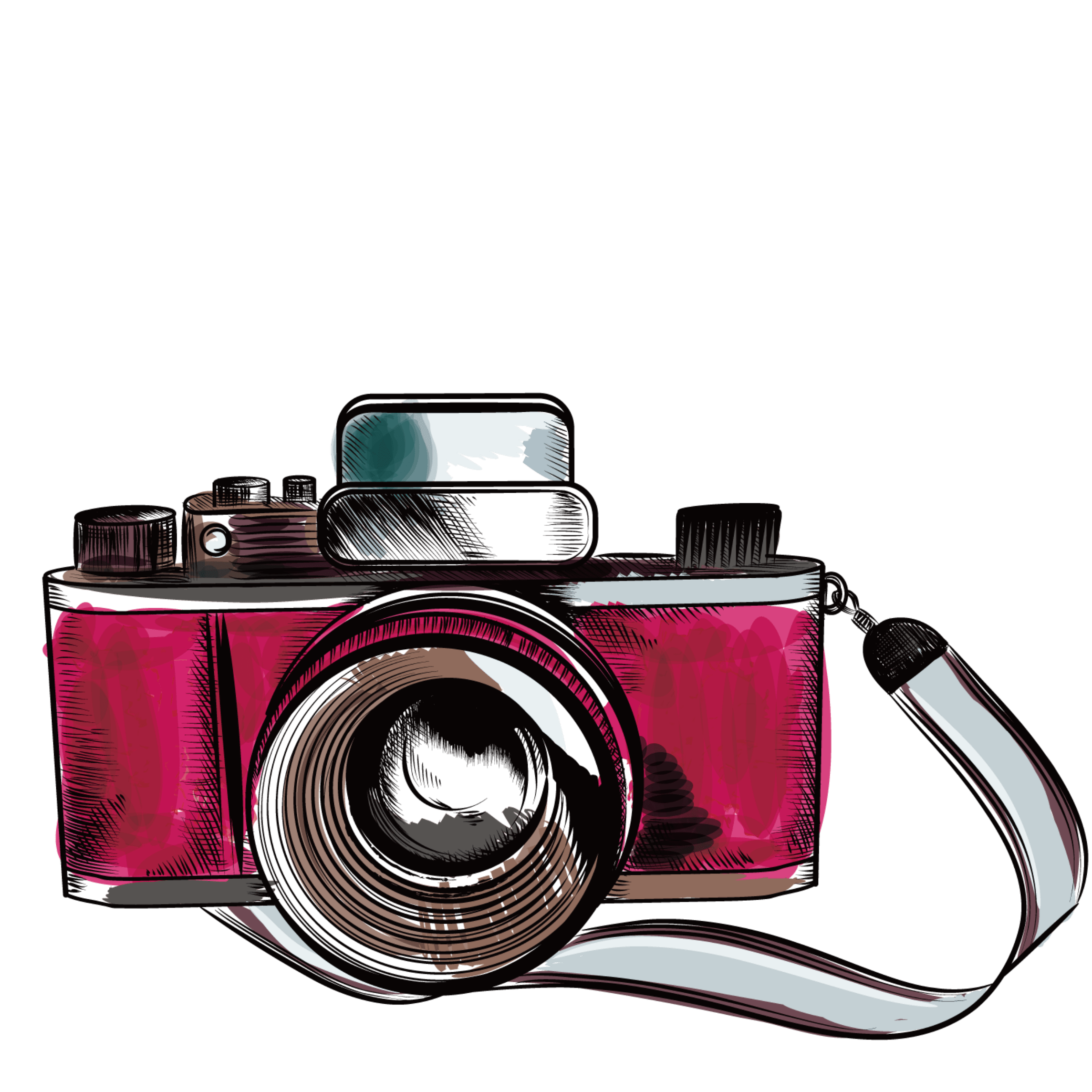 hight resolution of  ftestickers clipart camera vintage retro