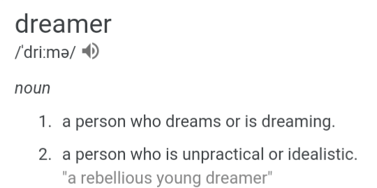 dreamer dream text texts