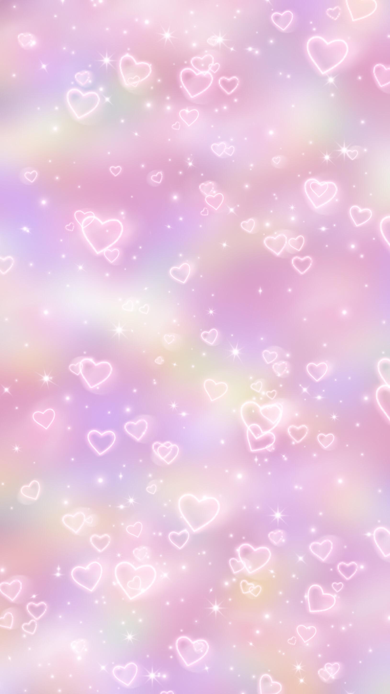 Cute Collage Wallpaper Freetoedit Pink Background Heart Love Wallpaper Cute