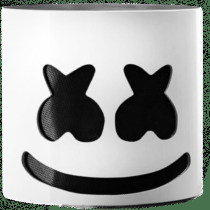 Marshmello Face Template Printable