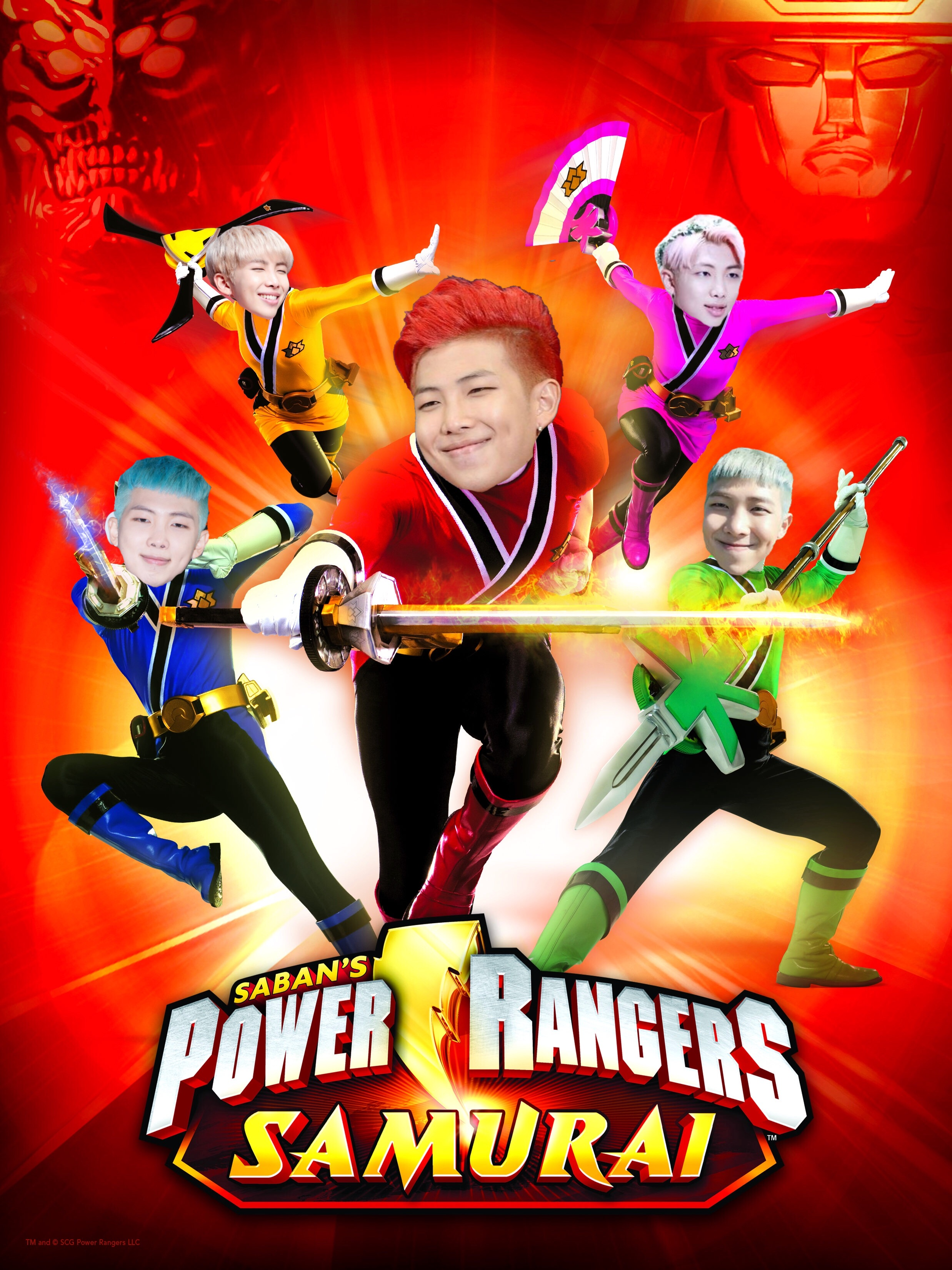 Power Rangers Bts : power, rangers, Btsedit, Rapmon, Namjoon, Power, Image, Karyna
