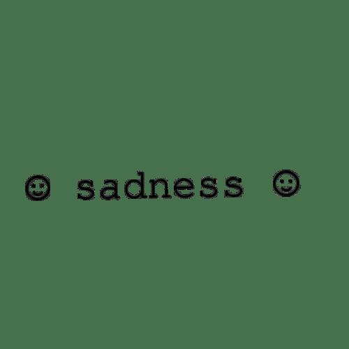 sadness sad tumblr sticker